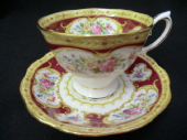 Royal Albert Lady Hamilton cup & saucer